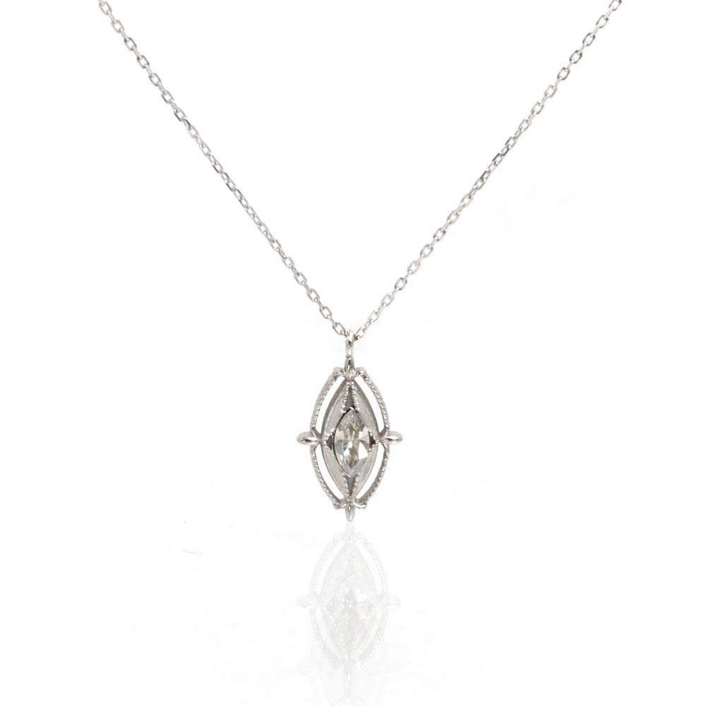 Lily Oval Charm Necklace - Osewaya