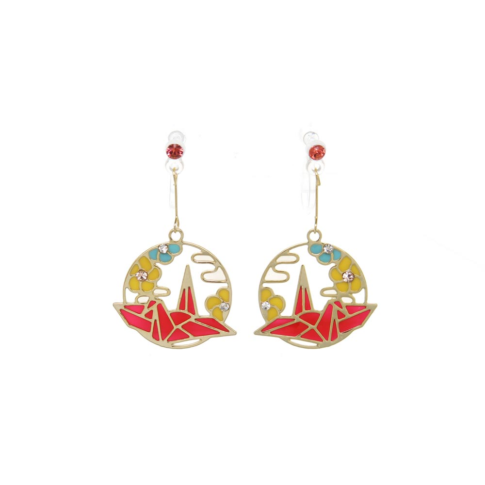 Hanagasumi Invisible Clip On Earrings - osewaya