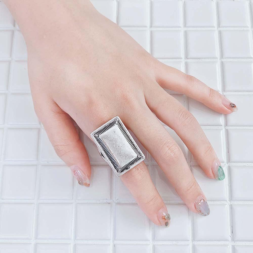 Native Style Square Ring