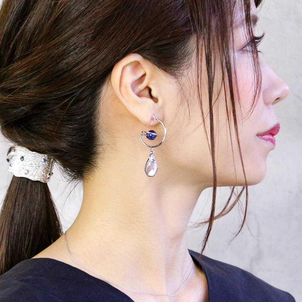 Planet Ornament C-Shaped Invisible Clip On Earrings