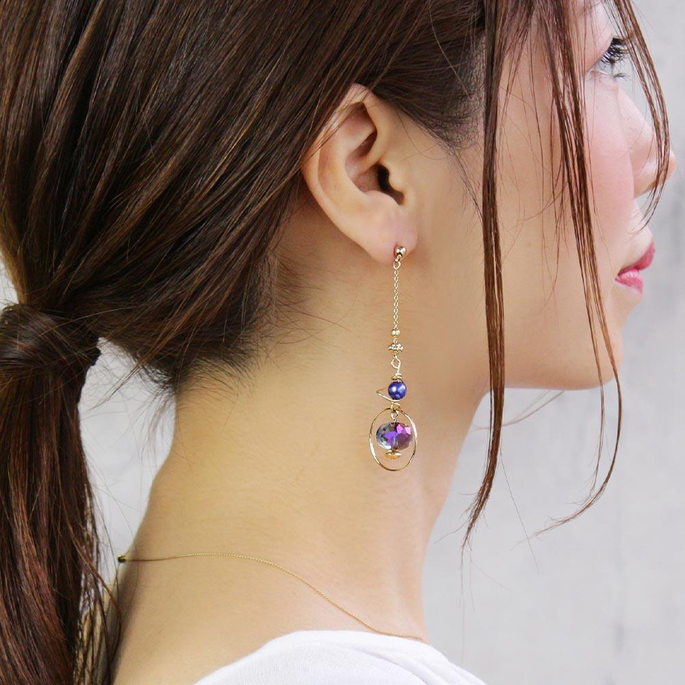 Celestial Mobile Ornament Earrings