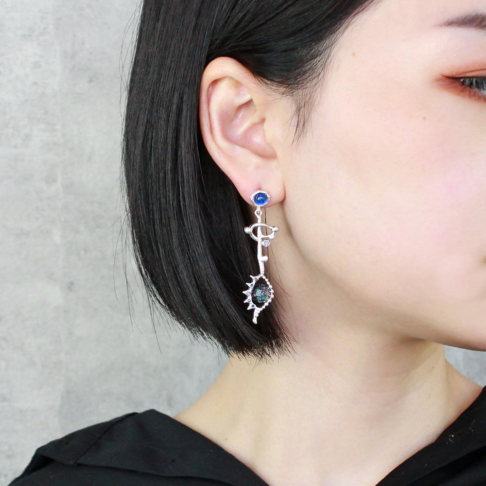 Mysterious Space Eye Star Sign Earrings
