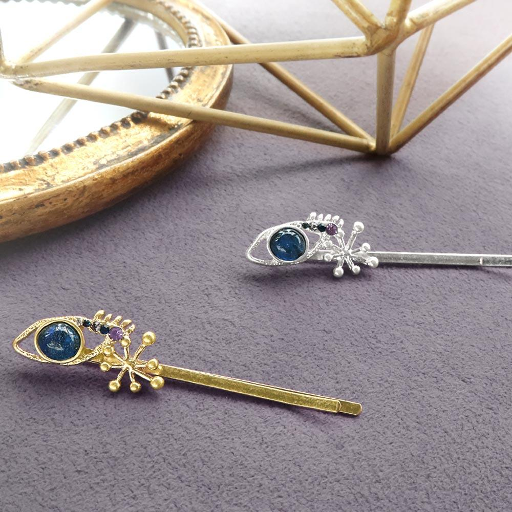 Space Eye and Sparkle Hairpin Set