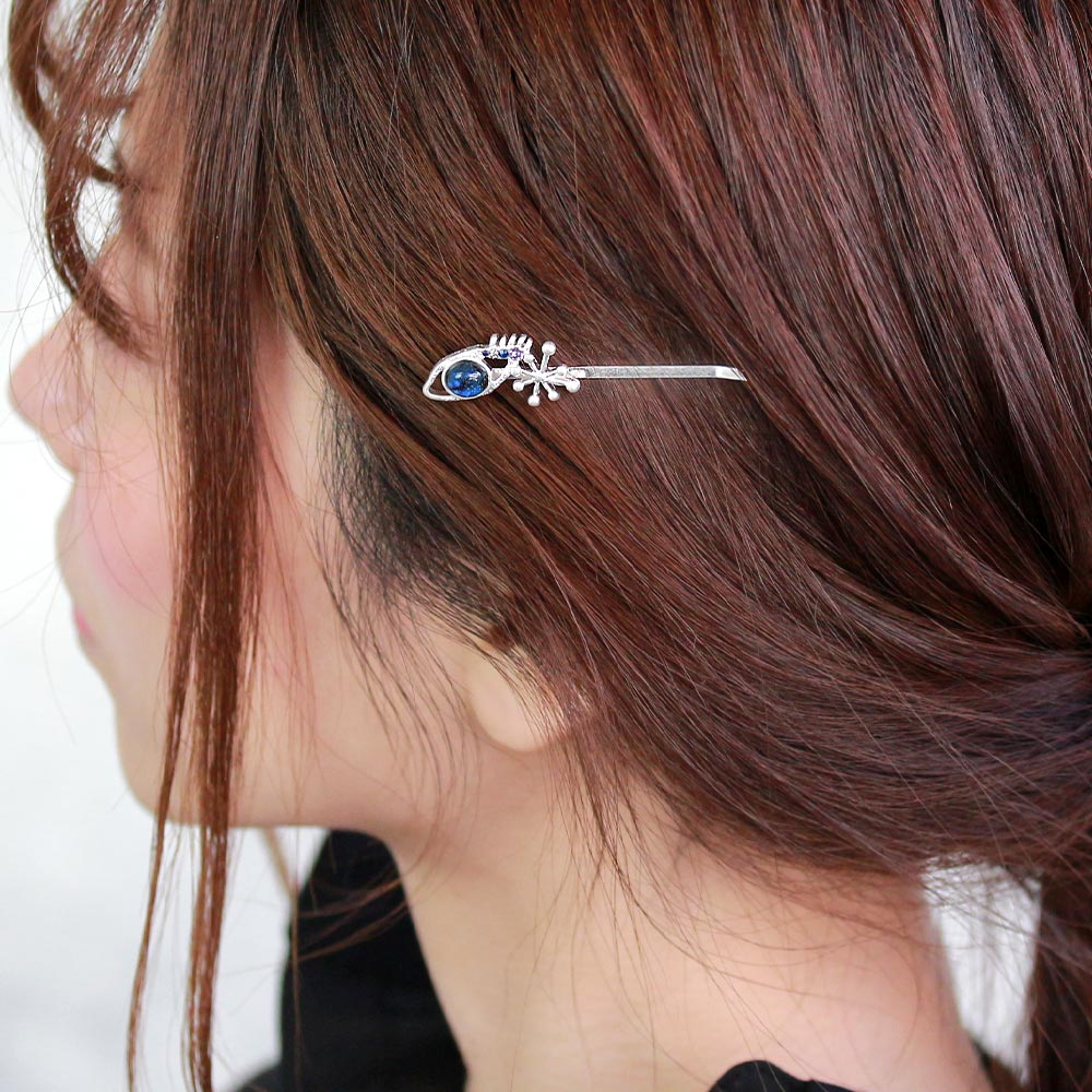Space Eye and Sparkle Hairpin