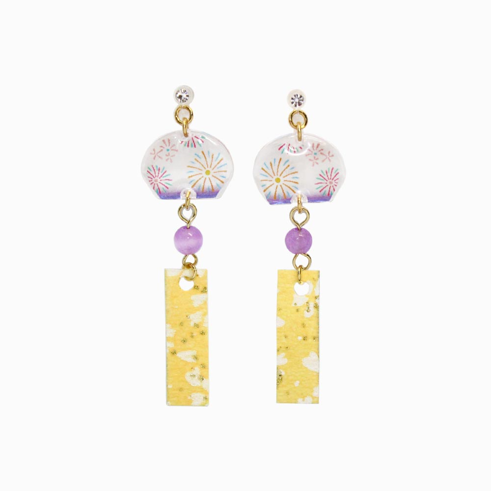 Wind Bell Invisible Clip On Earrings