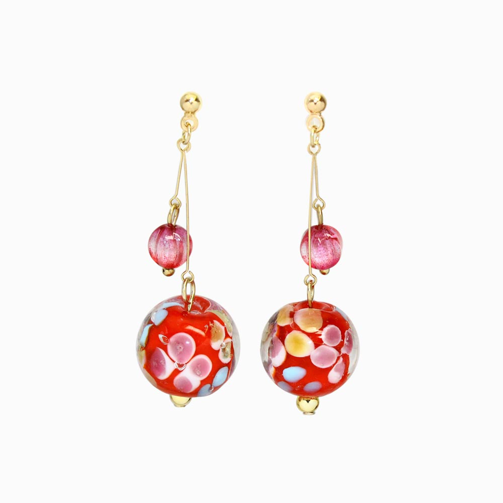 Japan Decoration Beads Invisible Clip On Earrings