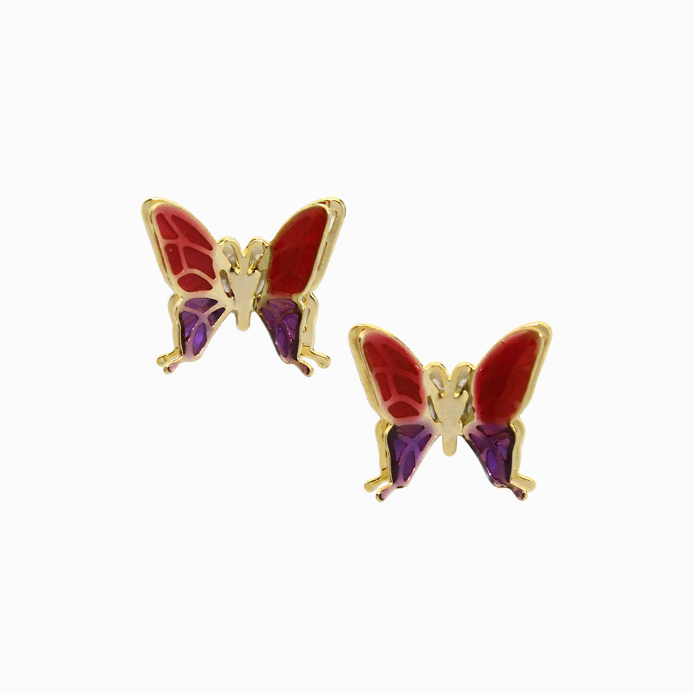 Butterfly Plastic Post Studs