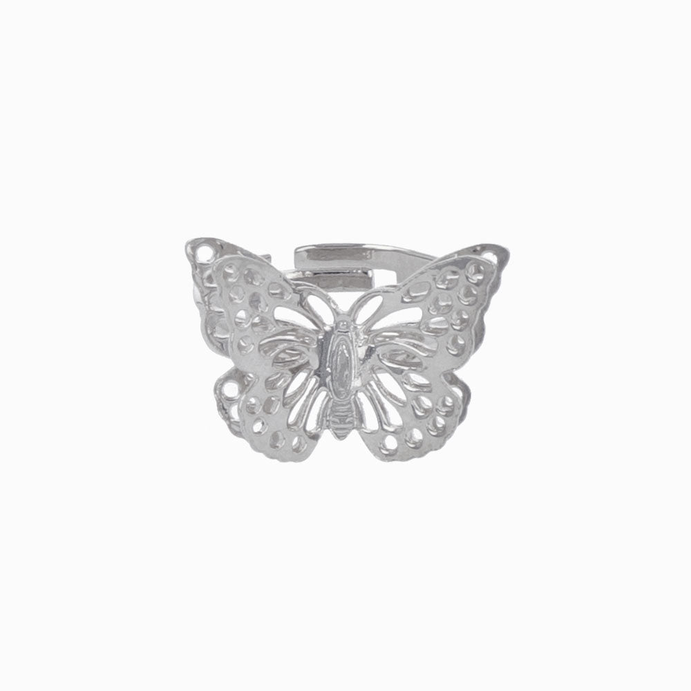 Openwork Butterfly Ring