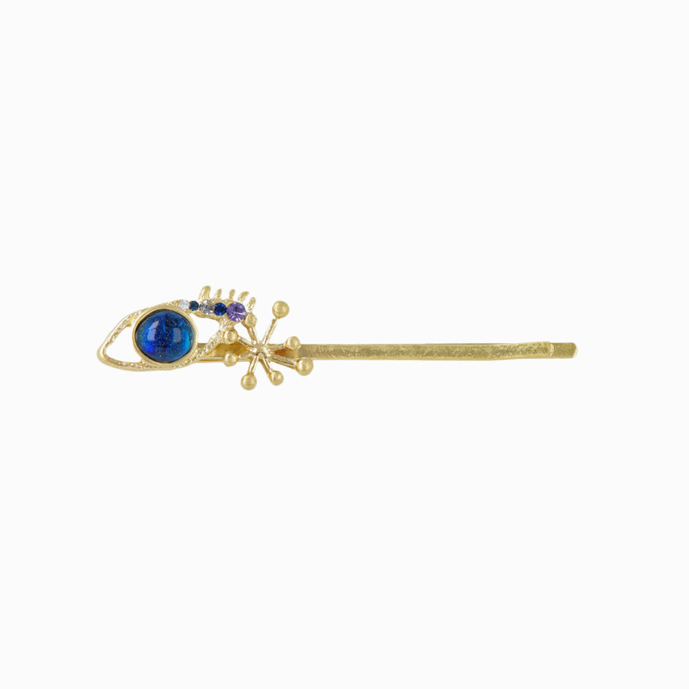 Space Eye and Sparkle Hairpin - osewaya