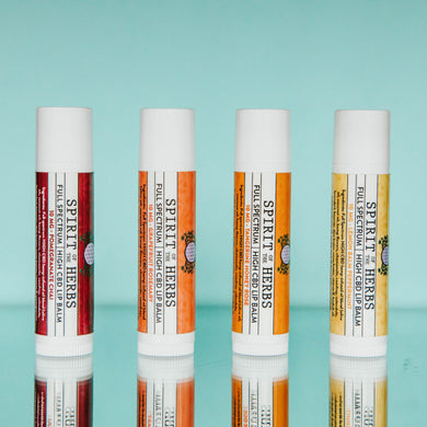 HIGH CBD Lip Balms