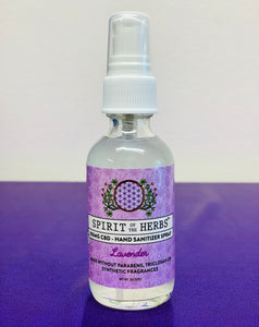 CBD & NON-CBD Hand Sanitizer Spray