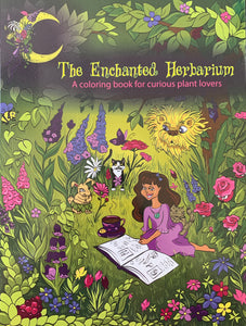 The Enchanted Herbarium Coloring Book