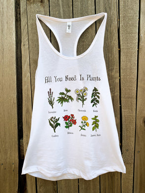 Spirit of the Herbs - Herbal Tank Top