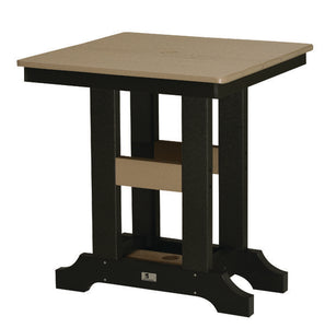 "Garden Classic 28"" Square Table Bar Height"