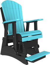 Load image into Gallery viewer, 2' Poly Adirondack Balcony Glider Chair