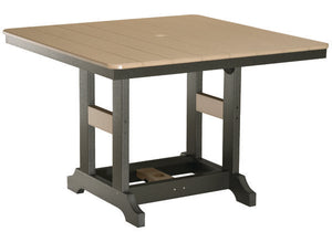 "Garden Classic 44"" Square Table Dining Height"