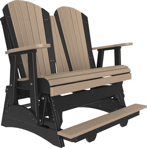 4' Poly Adirondack Balcony Glider Chair