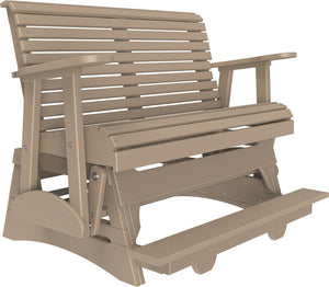 4' Poly Plain Balcony Glider