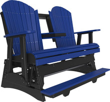 Load image into Gallery viewer, 5' Poly Adirondack Balcony Glider Chair