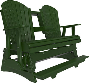 5' Poly Adirondack Balcony Glider Chair