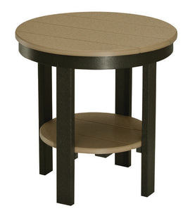 Round End Table Dining Height
