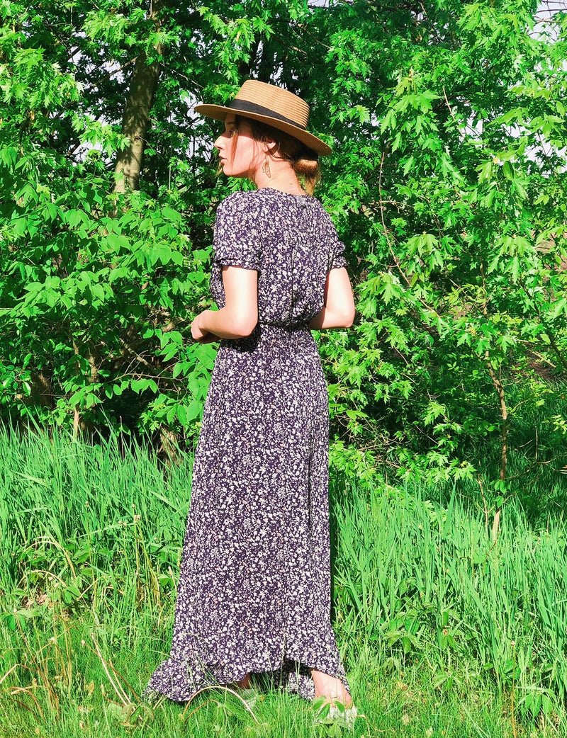 Floral + Treasure Maxi Dress