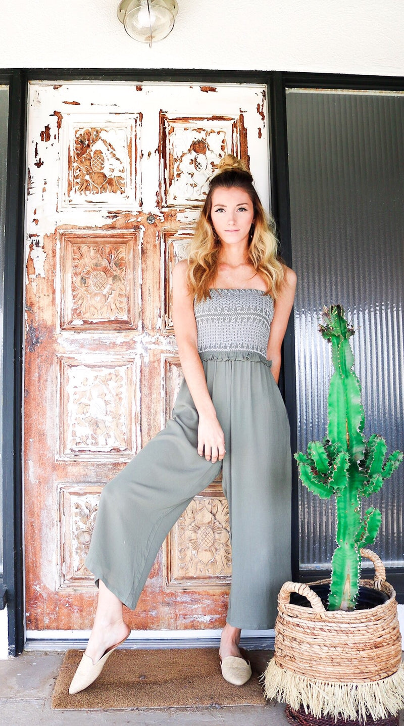 Going Green Jumpsuit