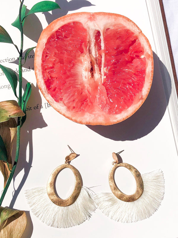 Thrivin' Tassel Drop Earrings