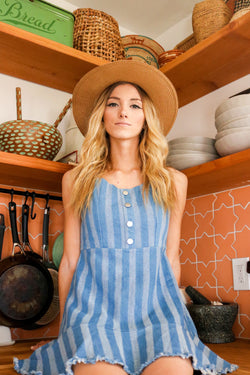 Stripes, Baby! Denim Dress