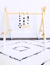 Load image into Gallery viewer, Wooden Activity Gym - White