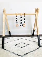 Load image into Gallery viewer, Wooden Activity Gym - Black