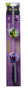 Adjustable string wand crinkle ball in packaging