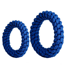 Load image into Gallery viewer, RompiDogz Tug N' Toss Rope - Blue