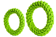 Load image into Gallery viewer, rompidogs rope toys green big and small sizes