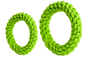 rompidogs rope toys green big and small sizes