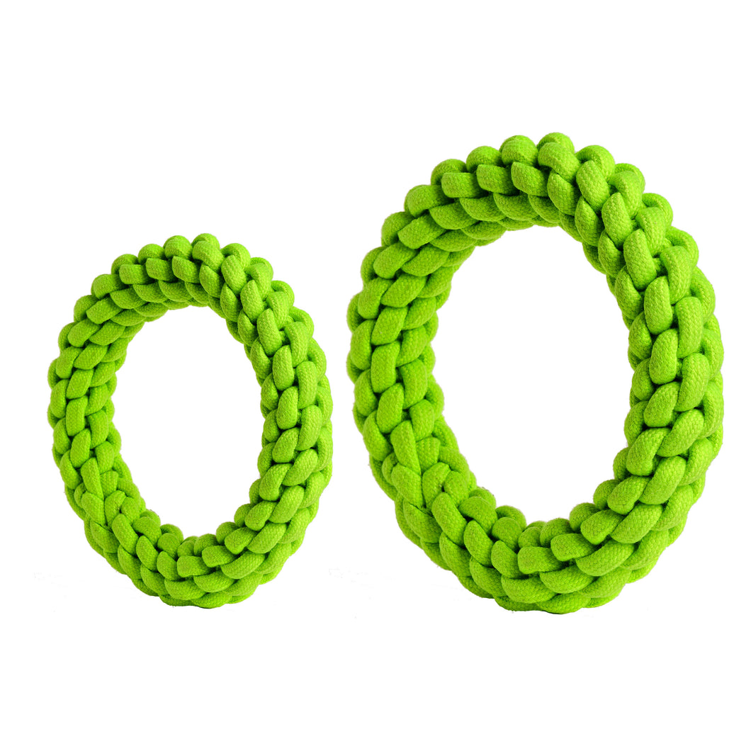 rompidogs rope toys green large and small
