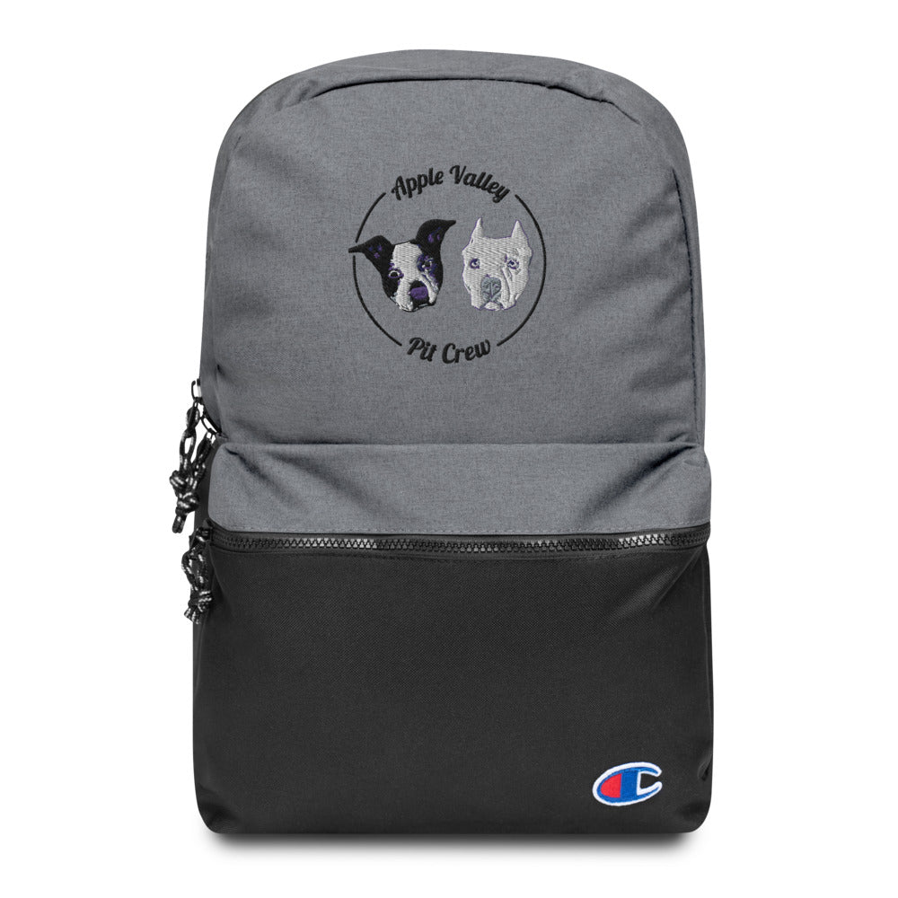 AVPC Logo Embroidered Champion Backpack