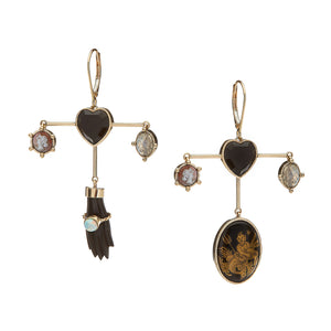 Afshan Heart Earrings