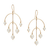 Alexis Curved Bar Earrings
