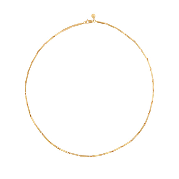 Melissa Bar Necklace in 22 Kt