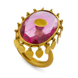 Ballerina Ring in Rubellite