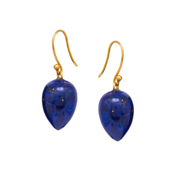 Amara Earrings in Lapis