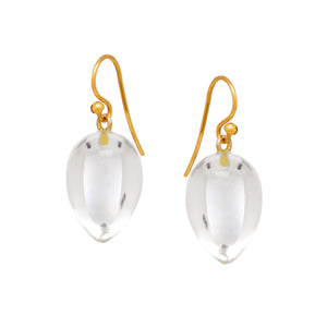 Amara Earrings in Rock Crystal