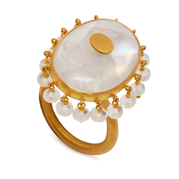 Ballerina Ring in Moonstone