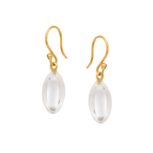 Angeliki Earrings in Crystal