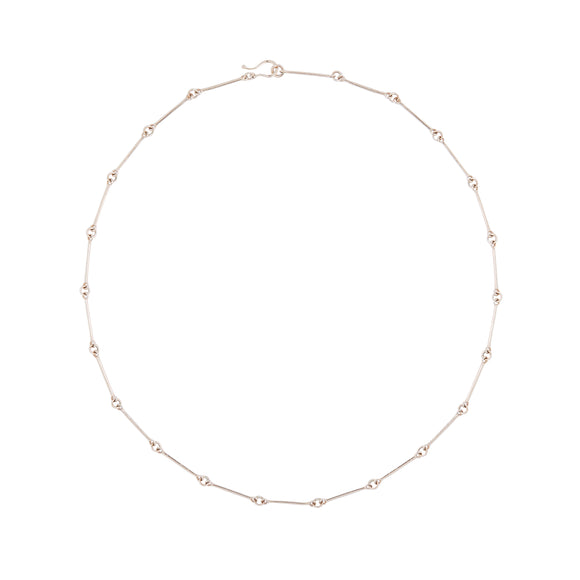 Lindsay Bar & Hoop Necklace