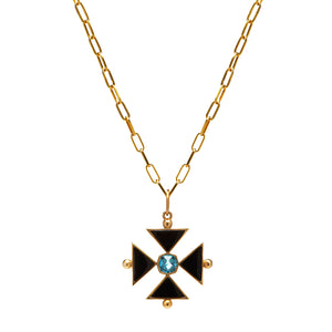 Maltese Cross Charm
