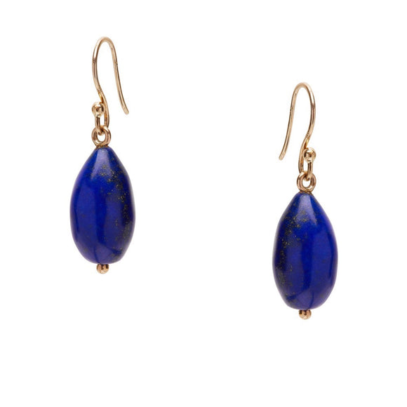 Angeliki Earring in Lapis