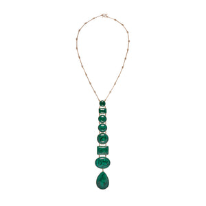 Julianne Malachite Necklace