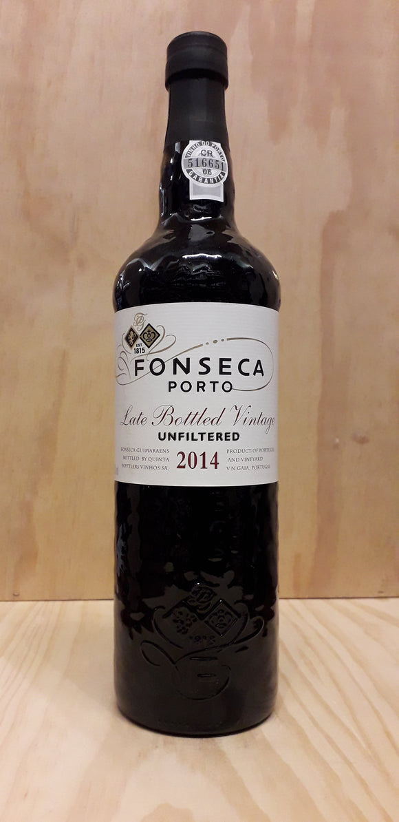 Porto Fonseca LBV 2014 Unfiltered 75cl